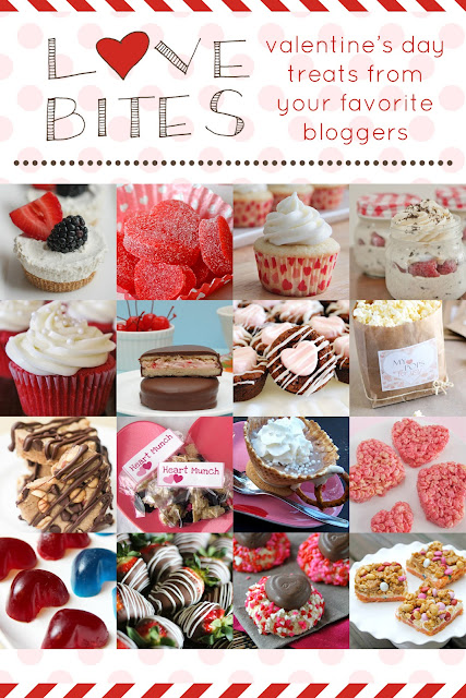 {Love Bites} Valentines Day Treats http://www.mamamiss.com ©2013