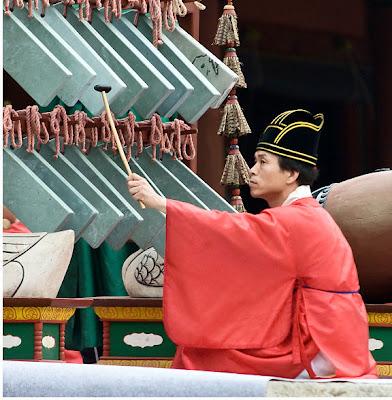 Sejarah musisi | Sejarah Alat musik tradisional Korea | Jongmyo