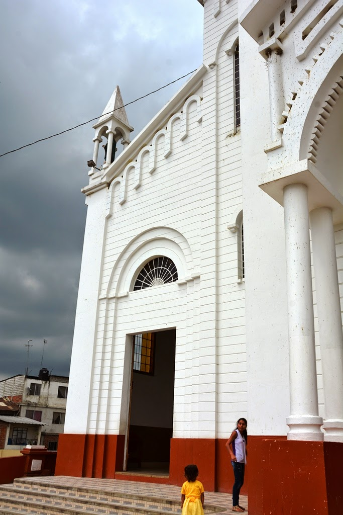 Church Torre Cristobal Montecristi