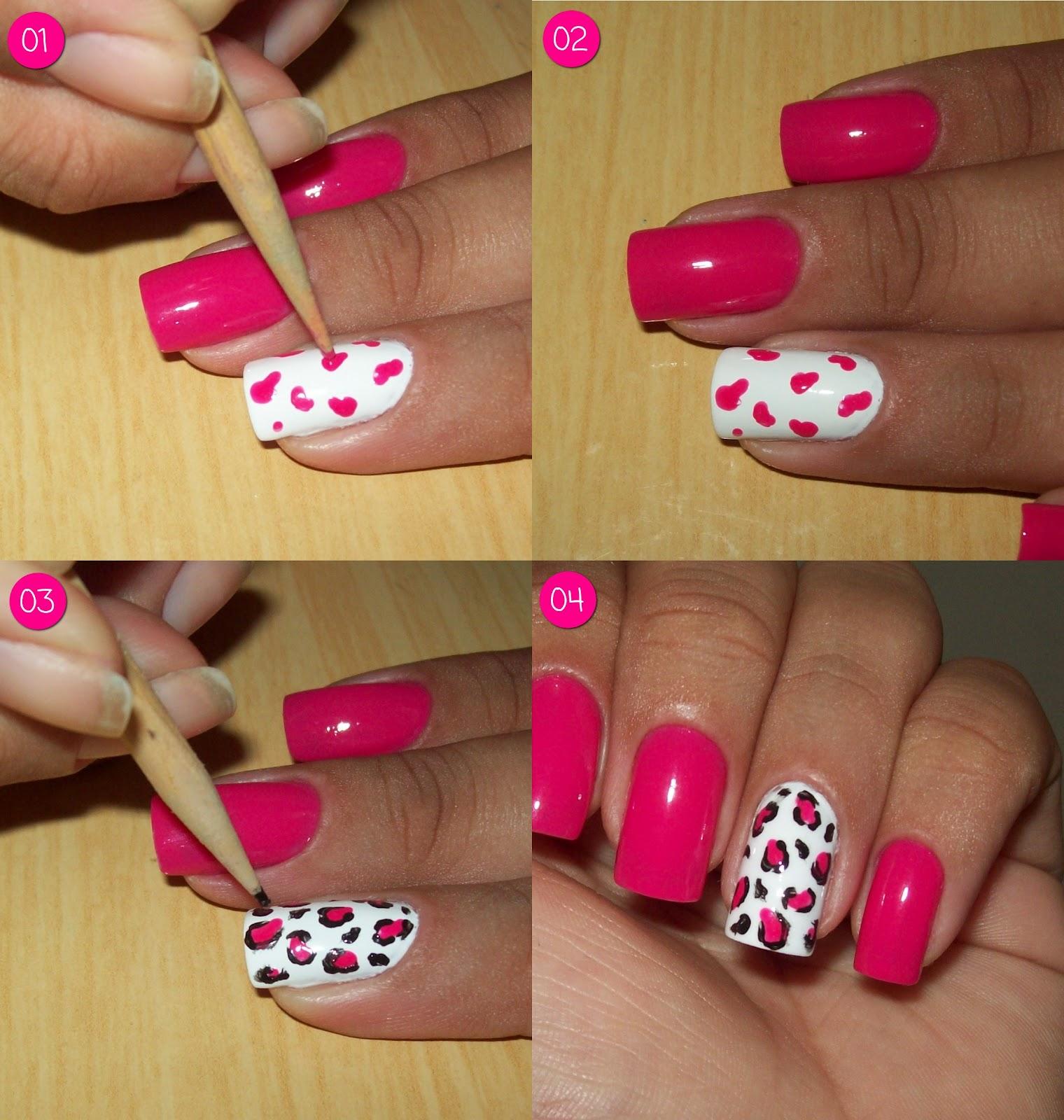 nails nail Aprenda a criar seus Proprios desenhos