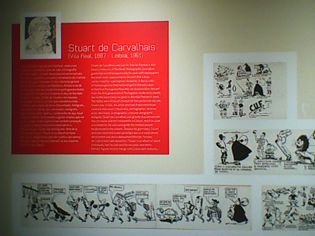 DURING MY INCIDENTAL VISIT TO THE EXHIBITION=[[THE HISTORY OF BENFICA  IN PRESS CARTOONS]]