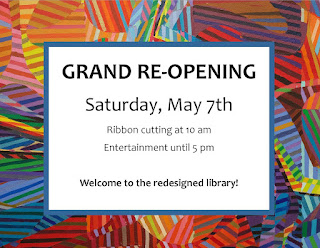 GRAND re-opening! Saturday, May 7th