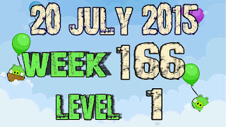 Angry Birds Friends Tournament level 1 Week 1665