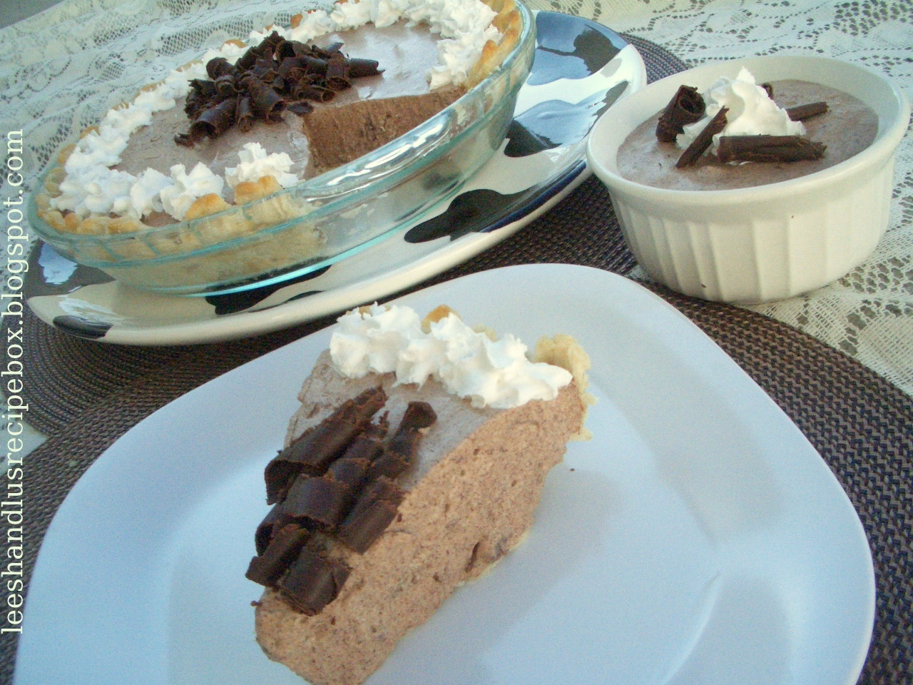... Box: Heavenly Chocolate Mousse {in a Pie Shell or Single Dishes