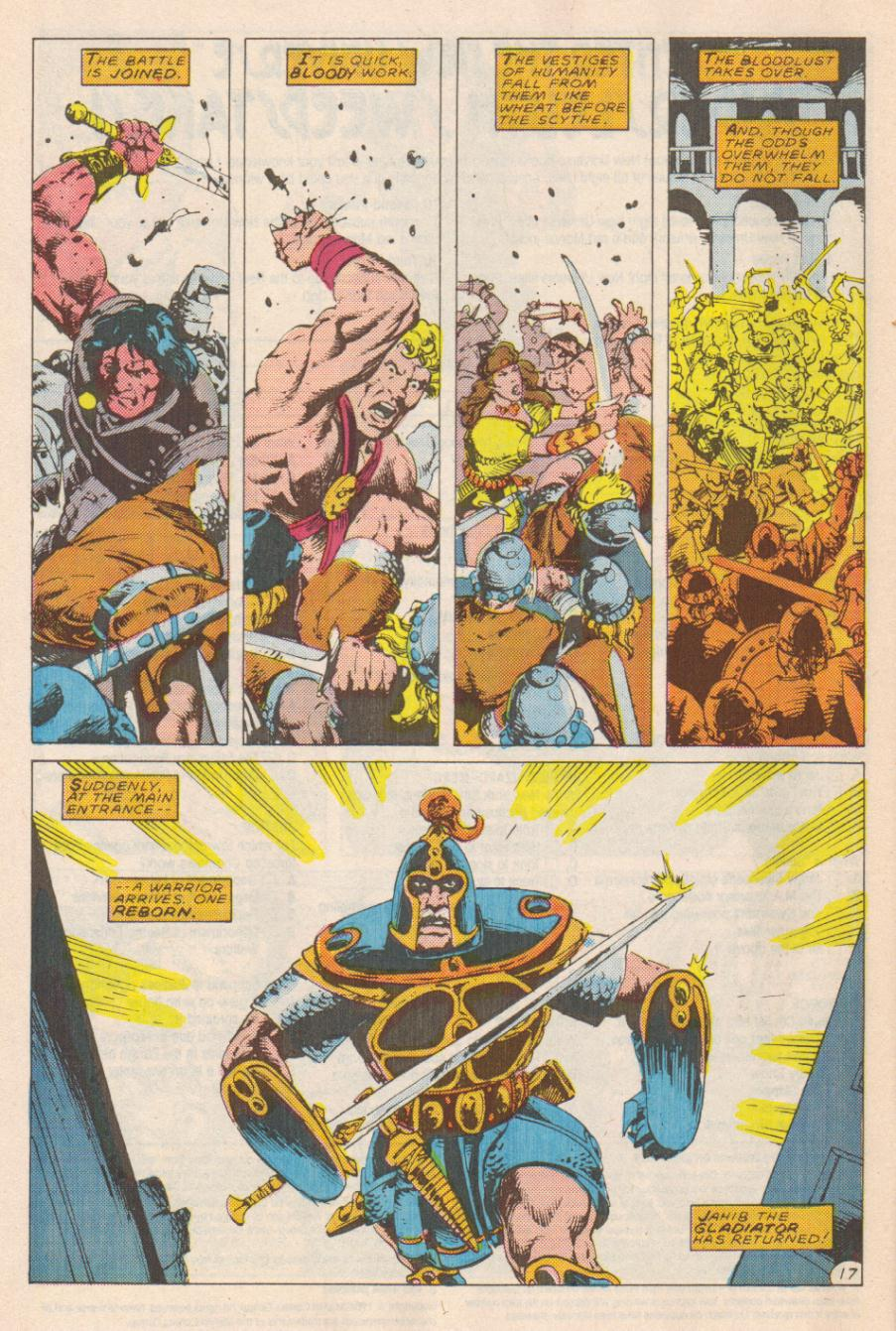 Conan the Barbarian (1970) Issue #191 #203 - English 18