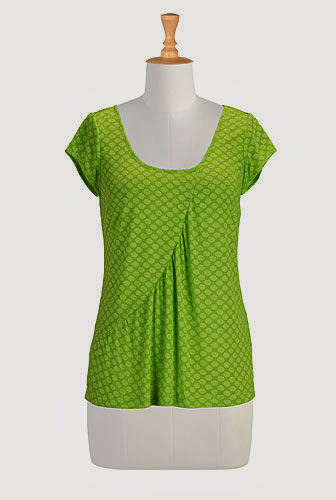 http://www.eshakti.com/Product/CL0027103/Draped-seam-knit-tee