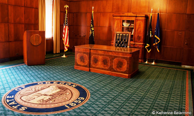 Governor's Office in the Oregon State Capitol