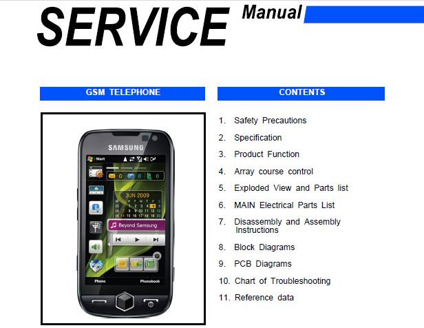 owners manual samsung omnia best setting instruction guide u2022 rh ourk9 co Crown Forklifts Clark Forklift Manuals