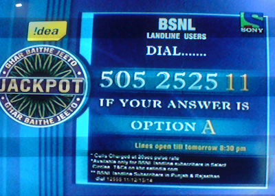 Jackpot BSNL