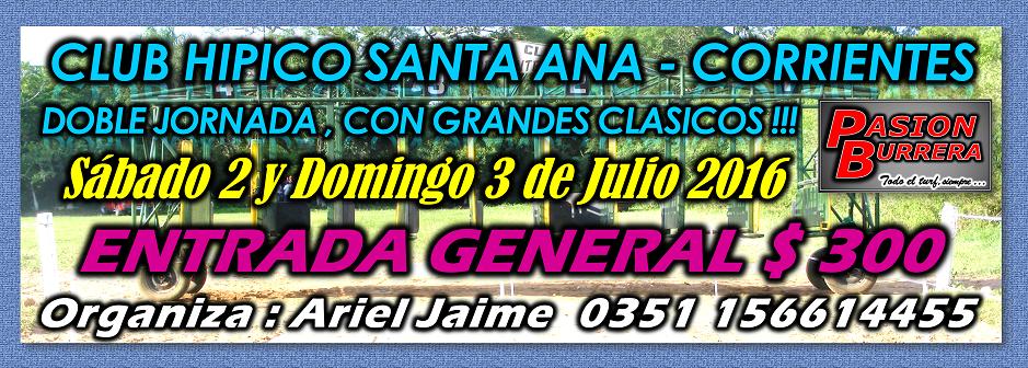 SANTA ANA - DOBLE JORNADA