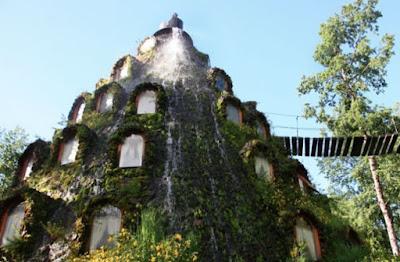 buongiornolink - Montana Magic Lodge ecco il primo hotel al mondo ricavato in un vulcano artificiale