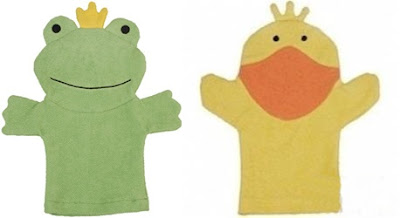 TheJungleStore.com | Rich Frog Organic Bath Mitts