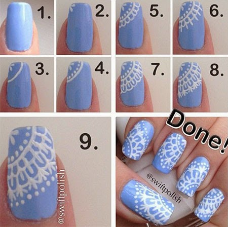 cute winter nail 2015 tutorials on pinterest, How to do cute winter nails, cute winter nails art tips