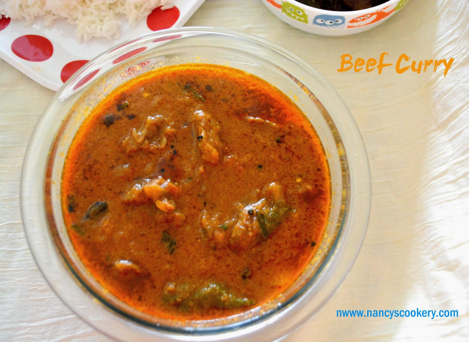 Beef Curry Is One Of The Dish We Prepare In Non Vegetarian Homes Good For Health My Gynecologist Recommended This During