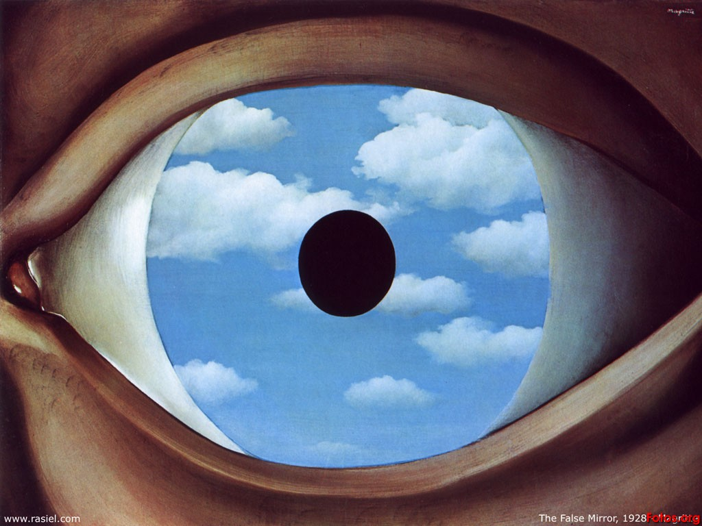1000 images about arte on pinterest max ernst magritte for Magritte le faux miroir