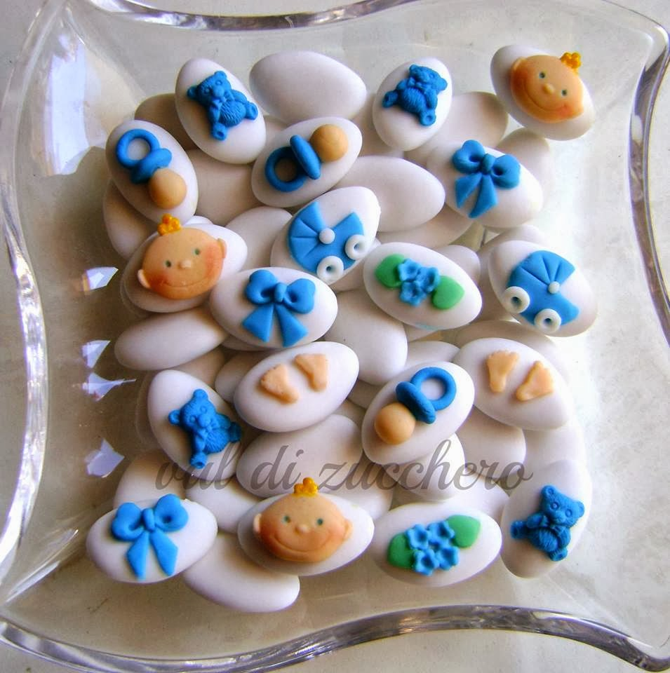 Estremamente Val di zucchero: Confetti decorati ZW43