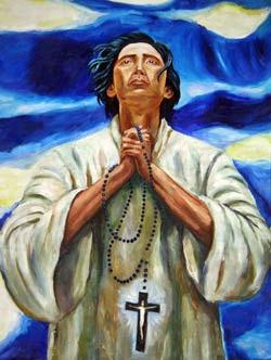 philippine saint saint lorenzo ruiz We have only one example – san lorenzo ruiz (c1600–1637) who tried to flee  manila on board a ship with three dominican priests who were.