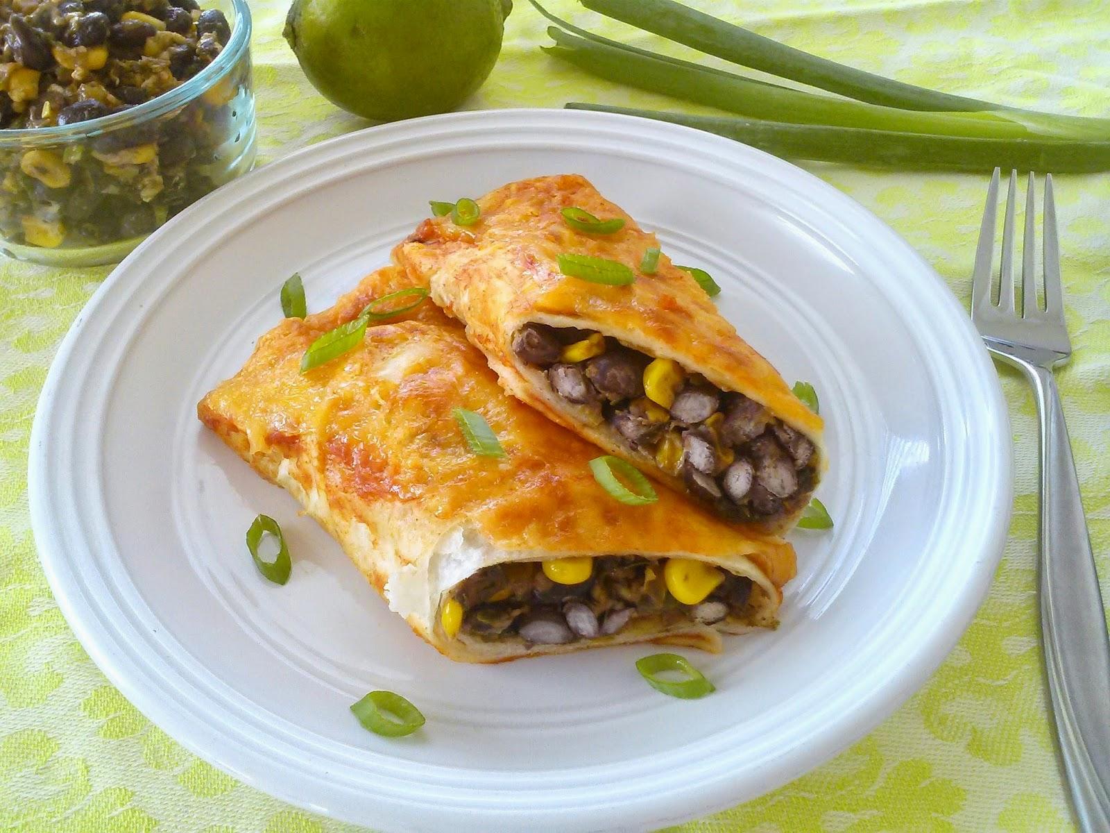 Zesty Southwest Enchiladas  l  Love.Bake.Read
