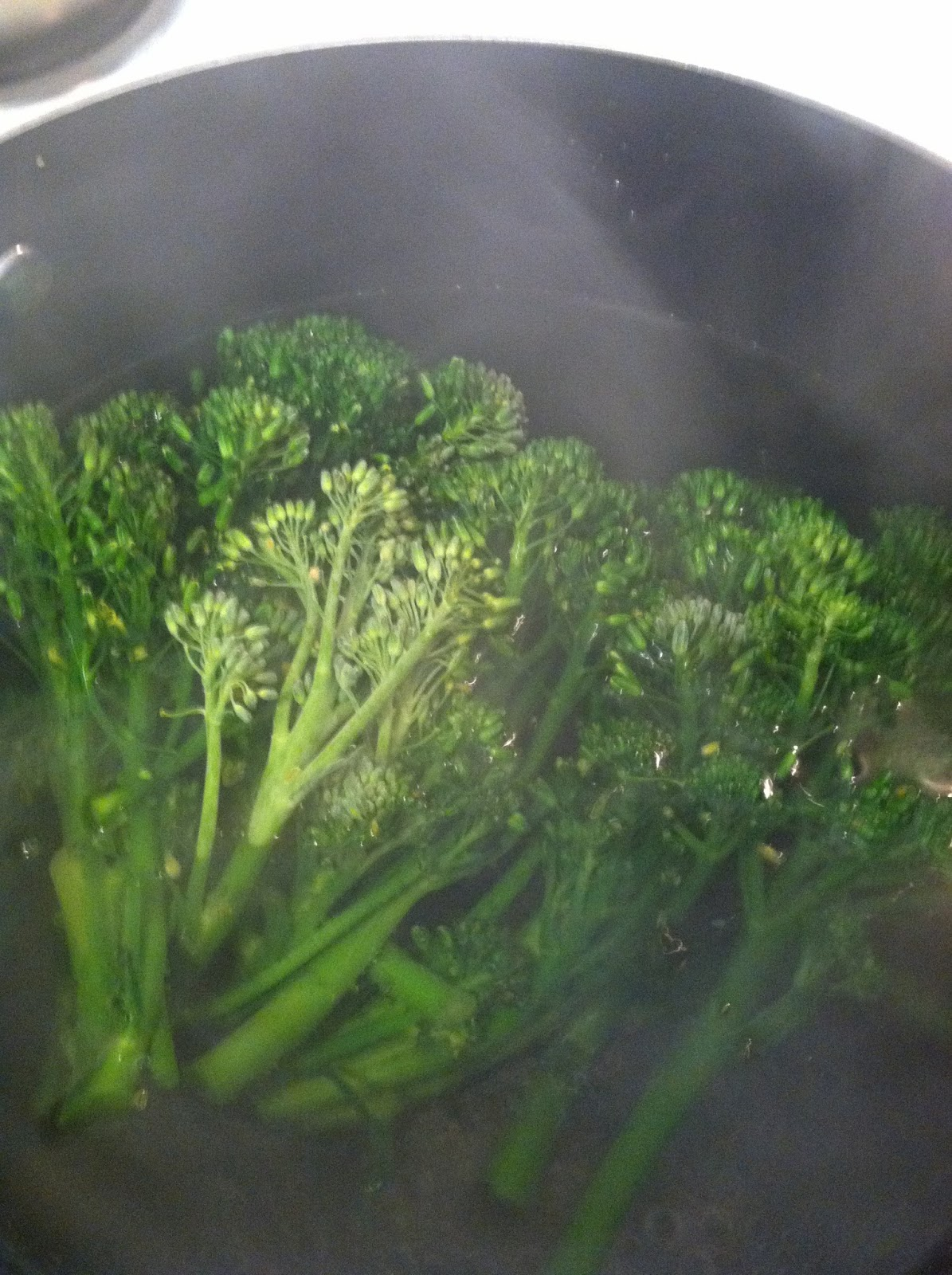 how to cook broccolini in microwave