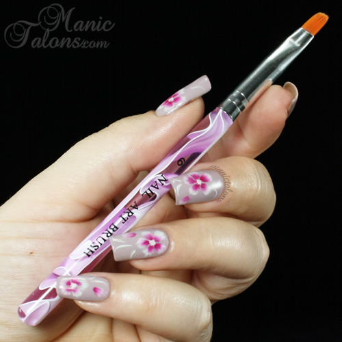 One Stroke Nail Art with Bundle Monster Brush