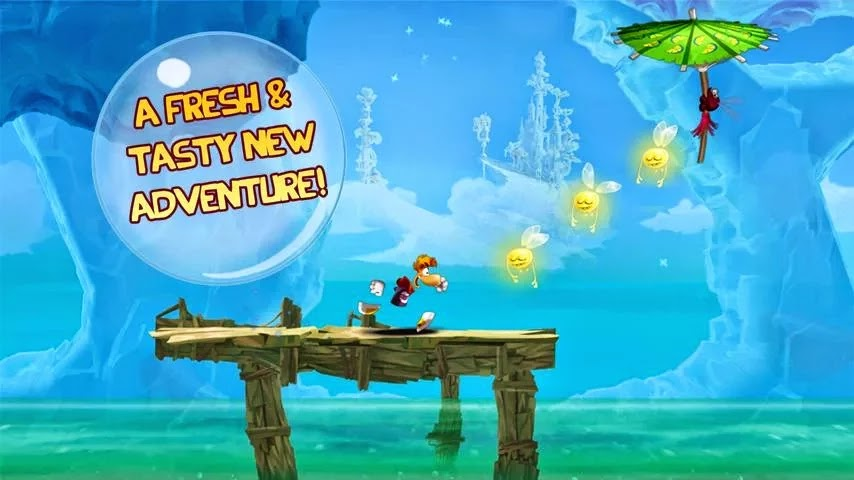 Rayman Fiesta Run v1.2.2 Mod [All Extras & Money Unlocked]