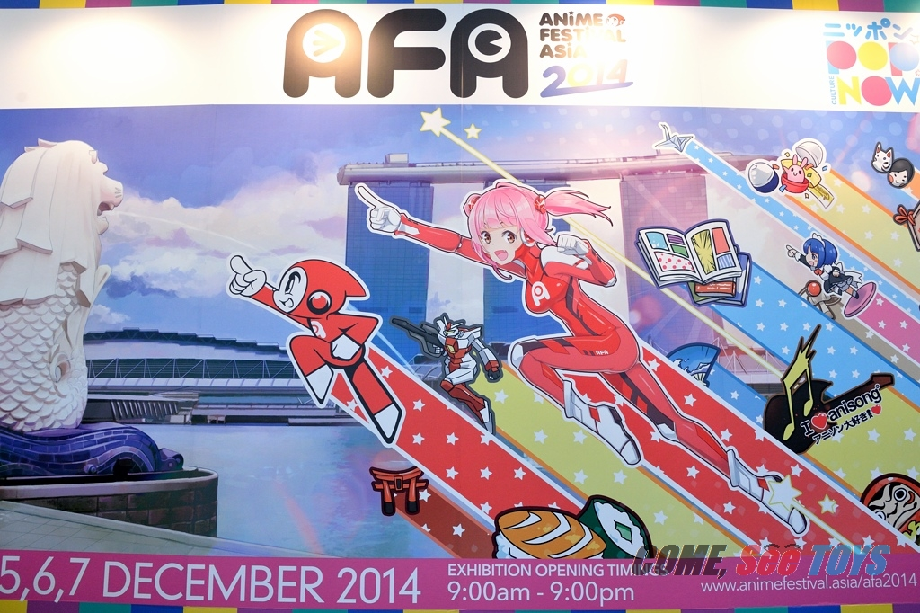 Anime Festival Asia AFA 2014 Concluded Over The Weekend And What An Event It Was This Years Edition Biggest Yet With A Mega Star Studded Guest