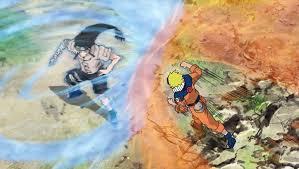 Naruto Vs Neji mangacomzone