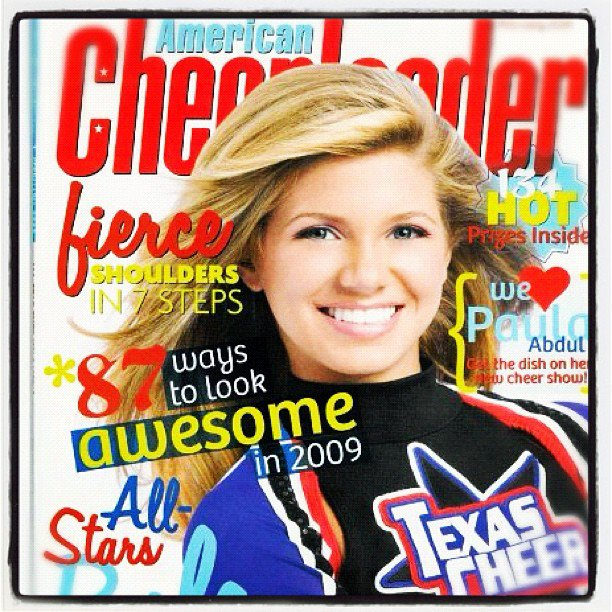 LS Models and Magazines Covers http://collegecheerheaven.blogspot.com/2012/12/texas-states-caitlyn-is-superstar.html