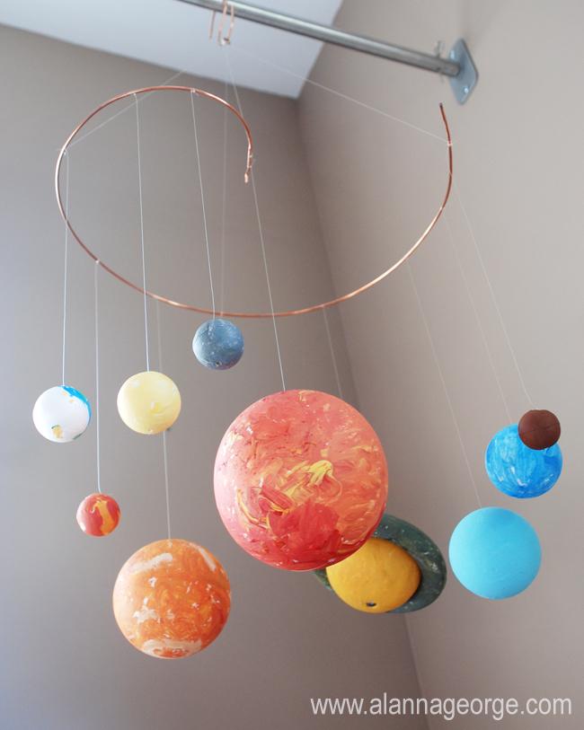 easy solar system craft - photo #36