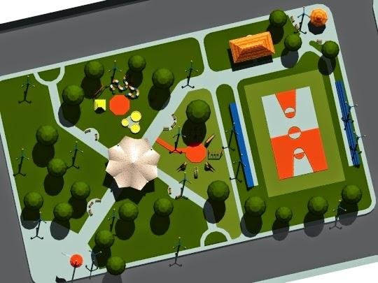 Arquitectura con identidad parque recreacional productivo for Plantas ornamentales para parques