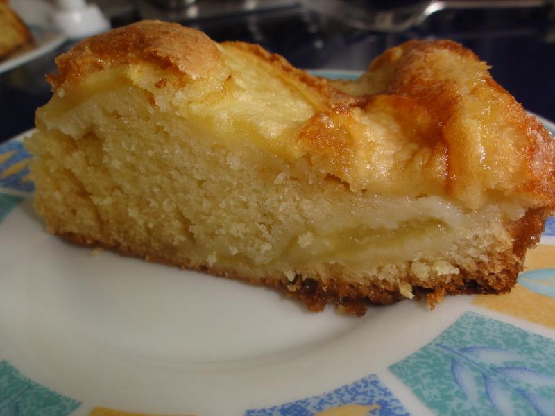 la cuisine de kittie: moelleux aux pommes