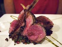 Za'atar Crusted Lamb Rack - Coriander-Leaf, Clarke Quay