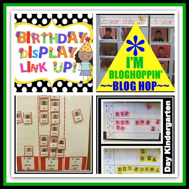 photo of: Birthday Display RoundUP via RainbowsWithinReach hosted by I'm Bloghoppin'