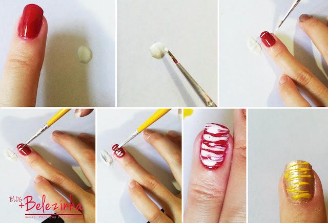 nail-art-cobertura-sorvete-fácil