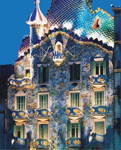 Designstylepop gaudi for Architecture gaudi