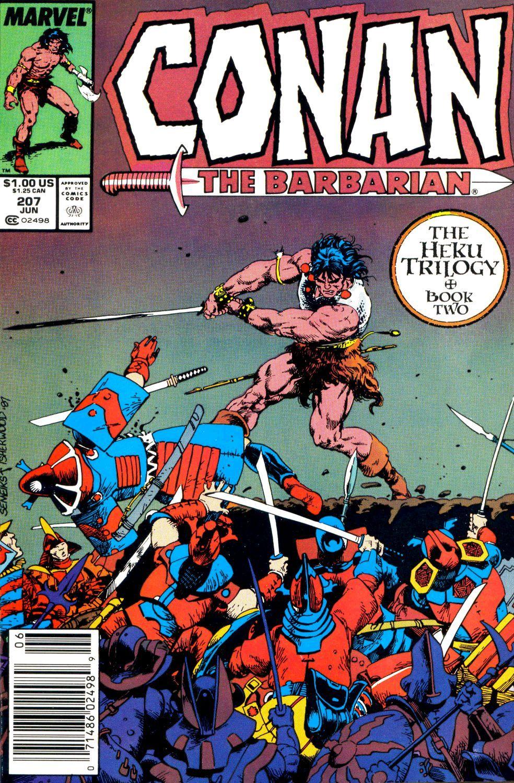 Conan the Barbarian (1970) Issue #207 #219 - English 1