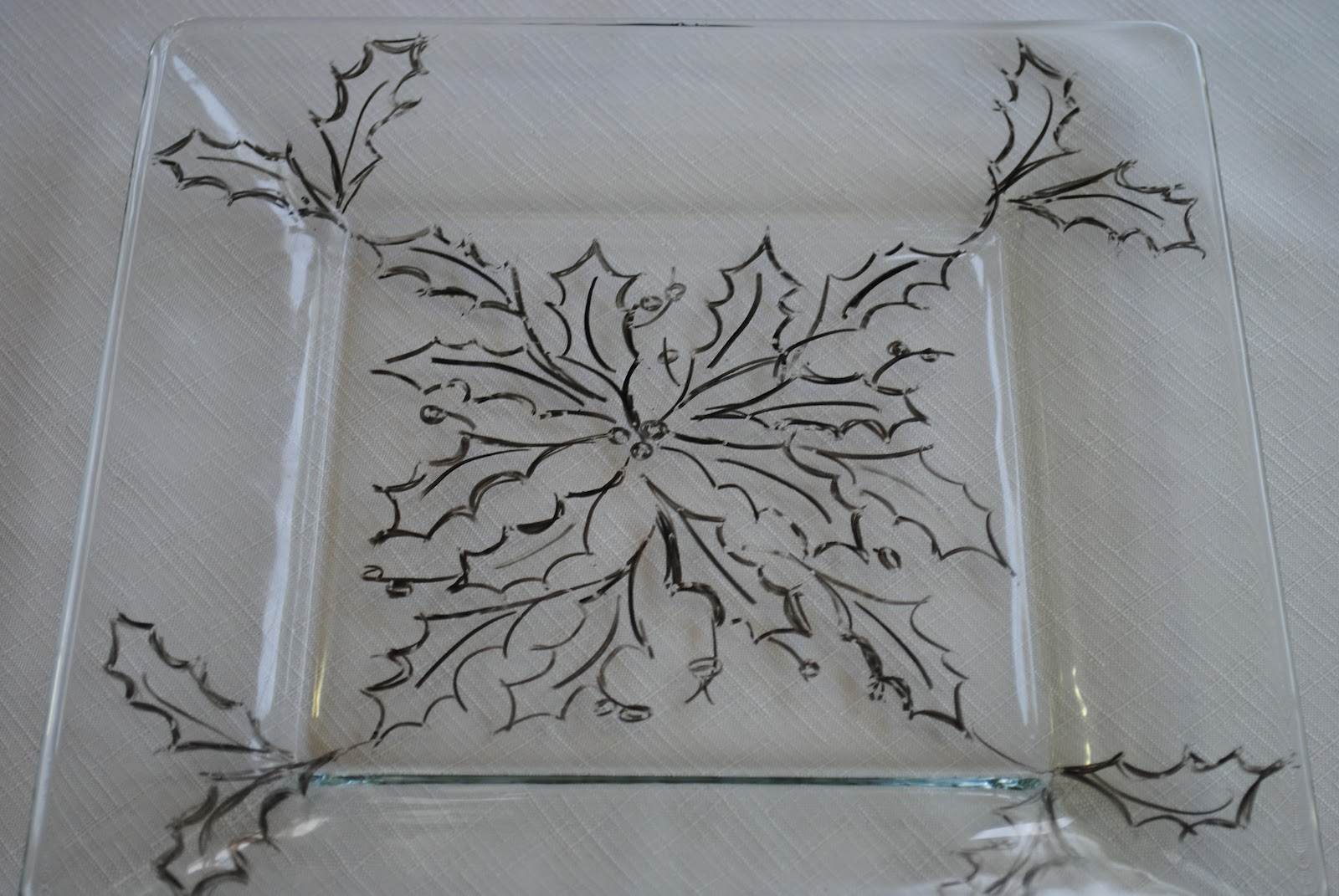 Christmas holiday ideas glass painting creative gift giving - Creative glass painting ideas ...