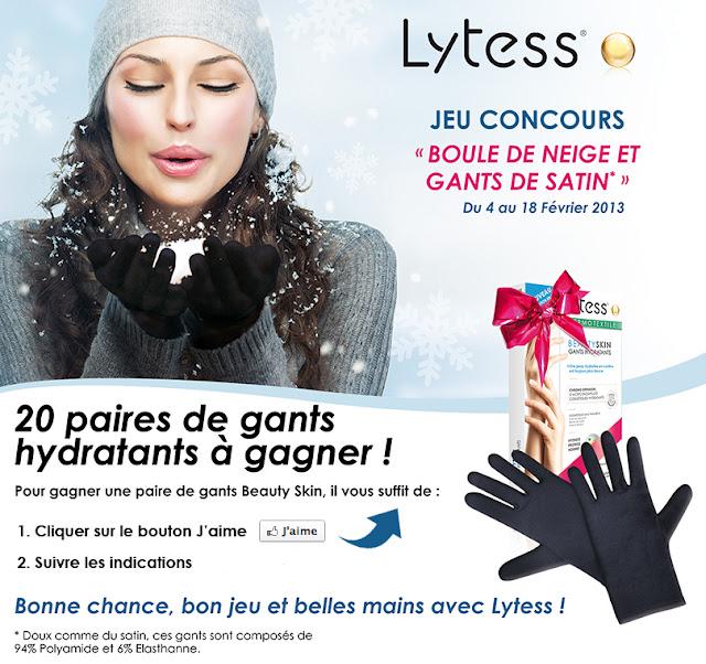 20 paires de gants Lytess