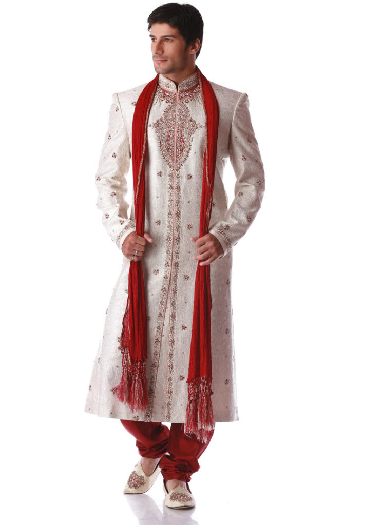 Fashion world latest fashion pakistani groom baraat dresses pictures