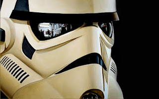 Stunning Stormtrooper Helmet Mask HD Wallpaper