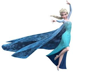 Elsa de frozen para imprimir