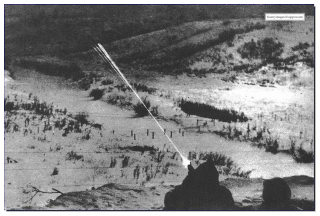 SS soldiers fire  Red Army positions Cherkassy