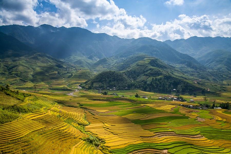 Campos de arroz de Mu Chang Chai – Vietnam