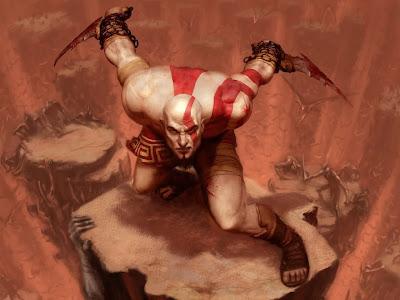God of War Game Wallpaper Ps2