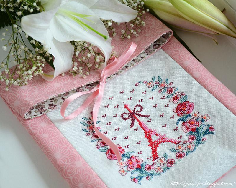 Les brodeuses parisiennes, Парижские вышивальщицы, Paris en fleur, Париж весной, Париж в цветах, весенний Париж, вышивка крестом, французская вышивка