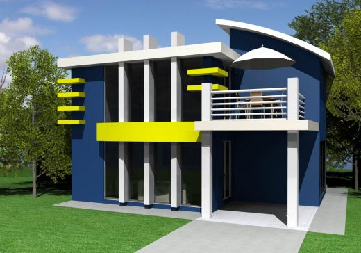 New home designs latest modern house designs for Simple modern house
