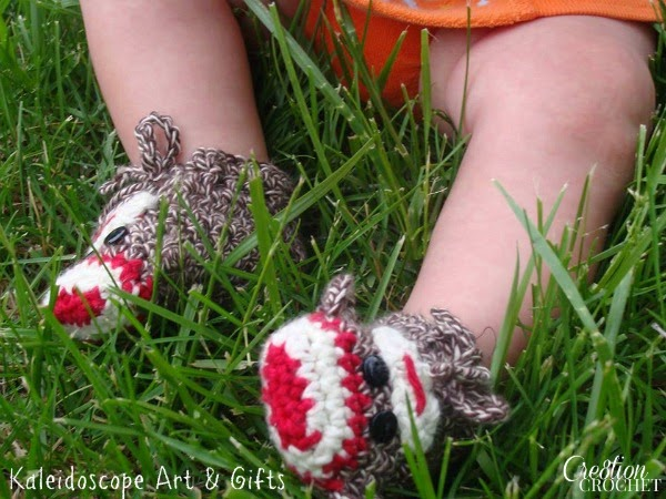 free crochet pattern sock monkey baby booties
