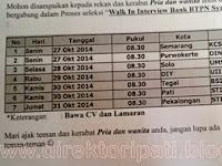 Ikuti Walk in Interview Loker Bank BTPN Syariah di STMIK AKI Pati