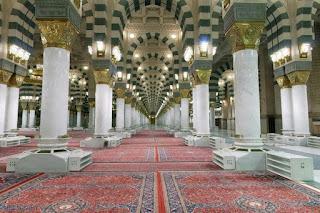 Inilah Pilar-Pilar Bersejarah di Masjid Nabawi