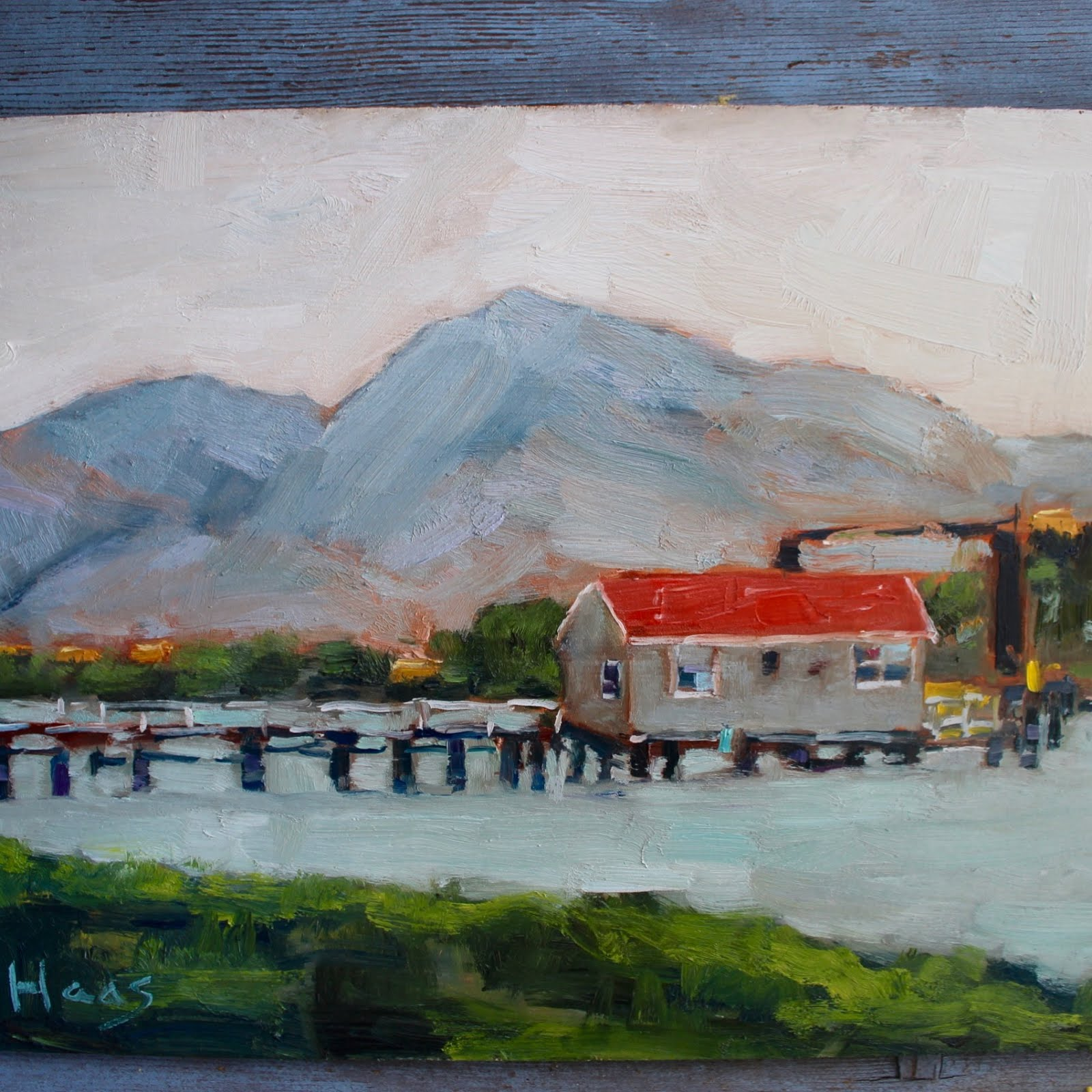 Old Ferry Building, Benicia, Plein Air